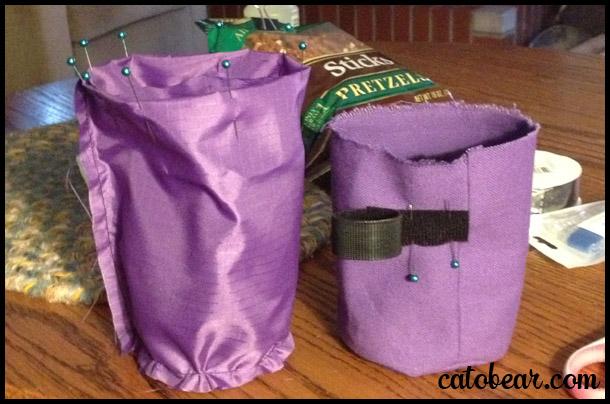 dog bait bag
