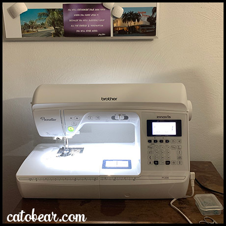 Brother Pacesetter Sewing Machine