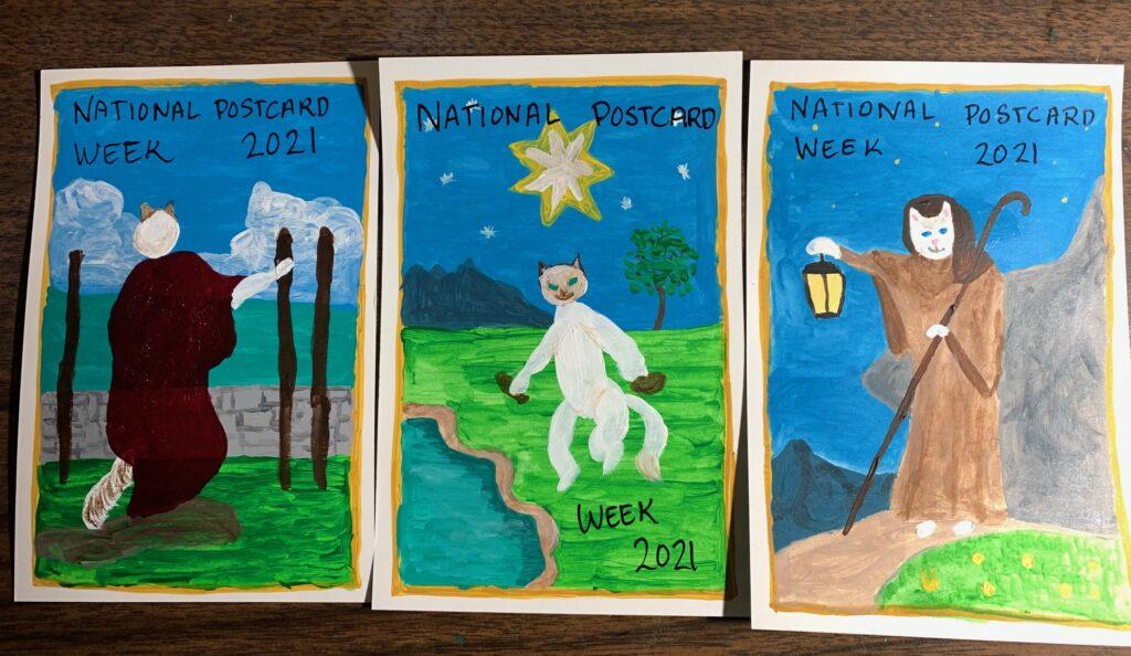 national postcard week 2021