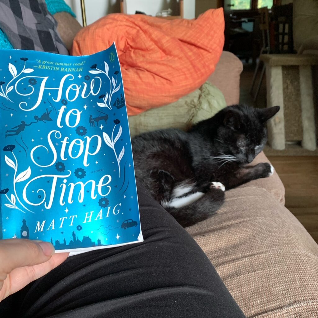 Summer Reading Update - How to Stop Time
