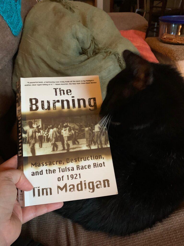 misc. summer updates - tim madigan's the burning