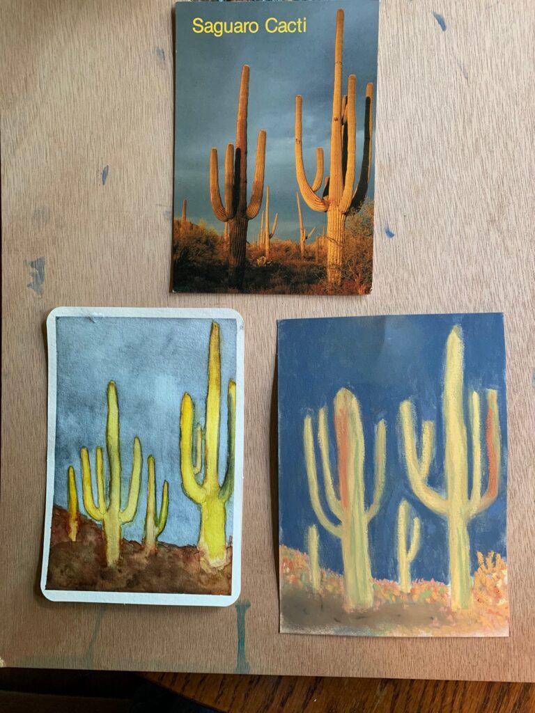 misc. blatherings postcards